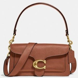 Coach Brown Leather Tabby 26
